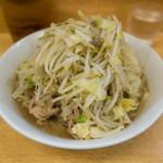 76474537 - 小 麺少なめ 野菜、カラメ、ニンニク少し