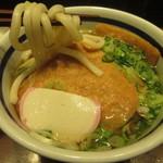 門左衛門 麺・串 - デカいお揚げさんが入っています♪
