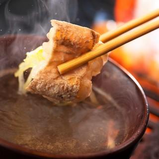【名物料理①】牛ホルモンのネギ焼きしゃぶ