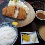 76481615 - 六白黒豚ロース定食