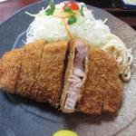 76481616 - 六白黒豚ロース定食