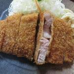 76481619 - 六白黒豚ロース定食