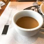 Cafe&BarbecueDiner パブリエ - ドリンクバーからコーヒー