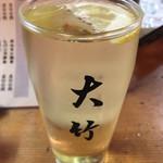 大竹 - (焼酎)ハイボール¥300