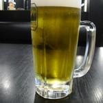 幸楽苑 - ドリンク写真:ビール