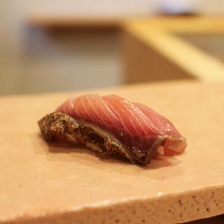 鮨 十兵衛 - 料理写真:ブリの漬け☆