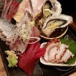 東池袋 魚金 - 3種盛り