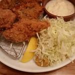 東池袋 魚金 - 牡蠣フライ