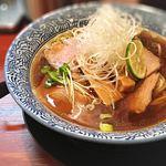 76488385 - 限定 魚介醤油ラーメン