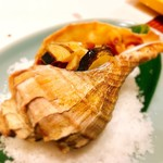 貝料理 吟 - ■ツブ貝バター焼き¥2580