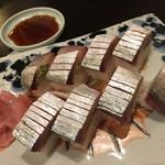 76489619 - 鯖棒寿司