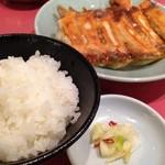 宇都宮みんみん - 焼餃子[2人前]+ライス