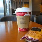 タリーズコーヒー - 本日のコーヒーとレーズンサンドウイッチ