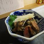 76494277 - 鶏れば山椒醤油漬け