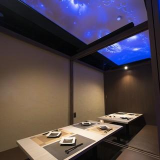 プラネタリウムの完全個室