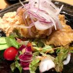 博多漁家 磯貝 - 明太子タルタルのチキン南蛮定食