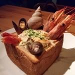 なっぱjuicy - 海老グラタン風トースト