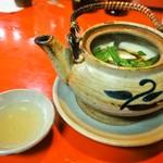 スタンドアサヒ - 松茸土瓶蒸し