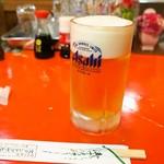 スタンドアサヒ - 生ビール