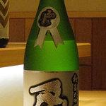 酒席料理 佳すい - 亀(藤枝)純米大吟醸低温古酒 滝上秀三作