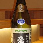 酒席料理 佳すい - 鷹長(奈良)菩提酛純米生酒 5勺 450円