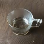カフェ自休自足 - サービスで頂いた利尻昆布出汁