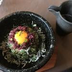 カフェ自休自足 - 料理写真:じゃことカリカリ梅のおこげ飯(1,080円)