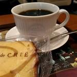 76499547 - ブレンドコーヒー、パウンドケーキ