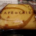 76499548 - パウンドケーキ(オレンジ)。しっとりで美味しい。