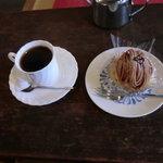7650712 - モンブランとブレンドコーヒー