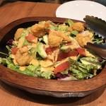 クラフトキッチン - 海老フリットとアボガドのサラダ