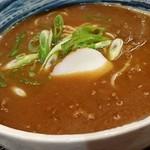 76501756 - うどんorそばを選べる麺は、玉子麺に惹かれてそばチョイスで♪