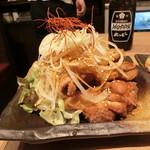 nikujirugyouzanodandadan - パリパリ油淋鶏  すごいボリューム感!