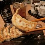 肉汁餃子製作所ダンダダン酒場 - まずは、そのまま食べましょう
