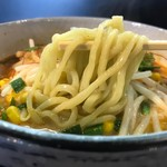 つるおか家 - 牛骨タンタン麺
