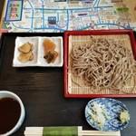 えびすや - 料理写真:ざるそば700円