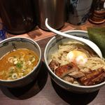 麺屋武蔵 神山 - 神山(かんざん)つけ麺  1100円(税込)