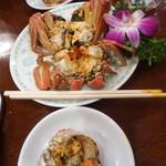 三和楼 - 上海蟹の雄雌のペア