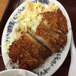 あやぐ食堂 - チキンカツ(ゆし豆腐定食)