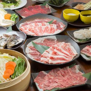 様々なスタイルで食すこだわりの厳選食材
