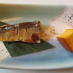 都や - 料理写真:人参カステラとカマスのポテトサラダ