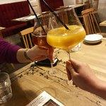 Amelie Cafe - ジュースで乾杯!
