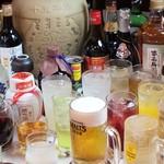 南国亭 - ドリンク写真:25種飲み放題