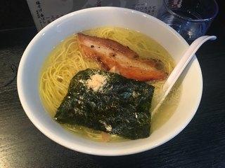 桑ばら - 塩そば750円