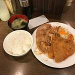 キッチン大正軒 - ミックスB定食(1050円)
