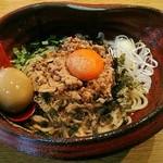つけ麺 雀 - 【味玉 国税局ブギー ミニ飯付】¥950