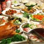 南国亭 - 火鍋に加えて100種類中華も食べ放題