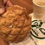 OTO - 栗とクルミのメロンパン  ¥120