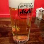 ダルバル - ドリンク写真:生ビール