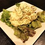 炭火焼dining おかげ家 - おかげ家特製ポテトサラダ(480円)